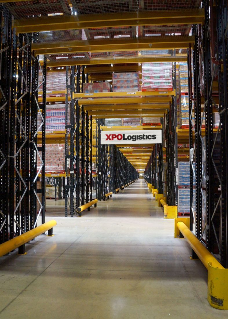 XPO Facilities Racking Walkway