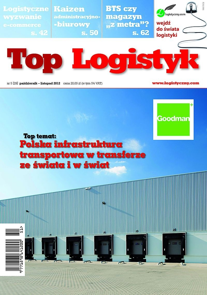 TOP LOGISTYK 5/12 E-WYDANIE (wersja elektroniczna)