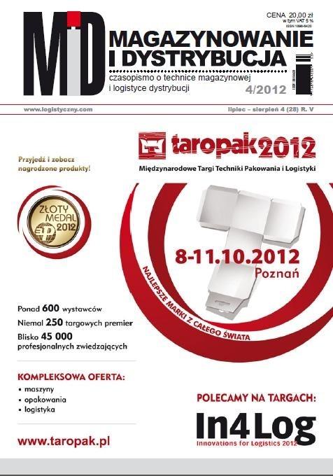 MAGAZYNOWANIE I DYSTRYBUCJA 4/12 E-WYDANIE (wersja elektroniczna)