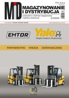Magazynowanie i Dystrybucja 2/2009 E-WYDANIE (WERSJA ELEKTRONICZNA)