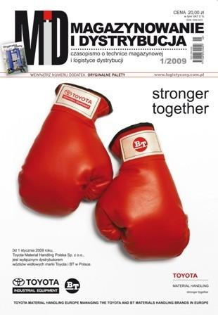 Magazynowanie i Dystrybucja 1/2009 E-WYDANIE (WERSJA ELEKTRONICZNA)