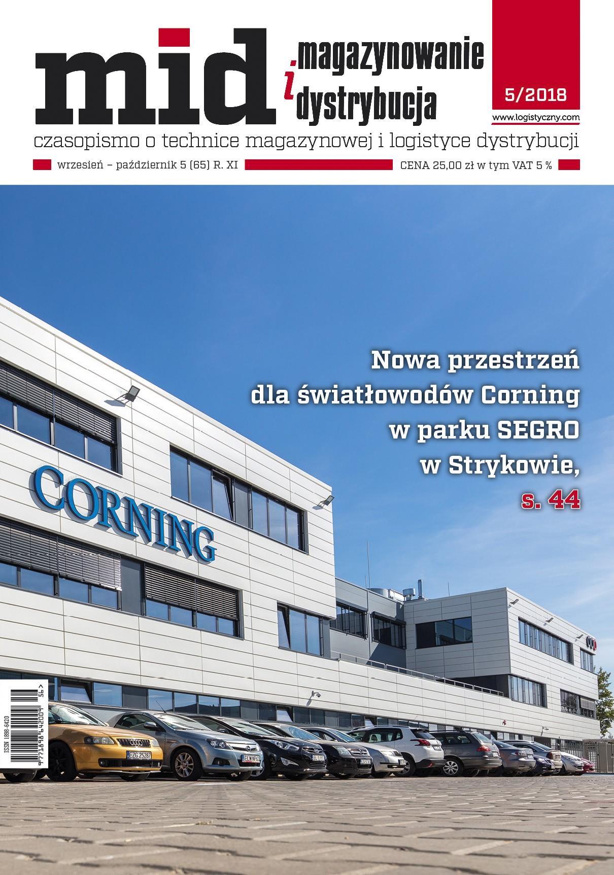 Magazynowanie i Dystrybucja 5/2018-e-wydanie