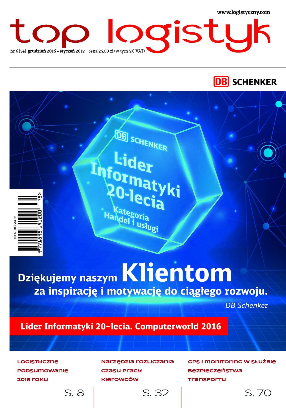 Top Logistyk 6/2016-e-wydanie