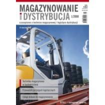 Magazynowanie i Dystrybucja 1/2008 E-WYDANIE (WERSJA ELEKTRONICZNA)