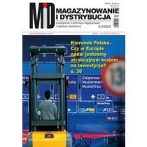 Magazynowanie i Dystrybucja 4/2009 E-WYDANIE (WERSJA ELEKTRONICZNA)