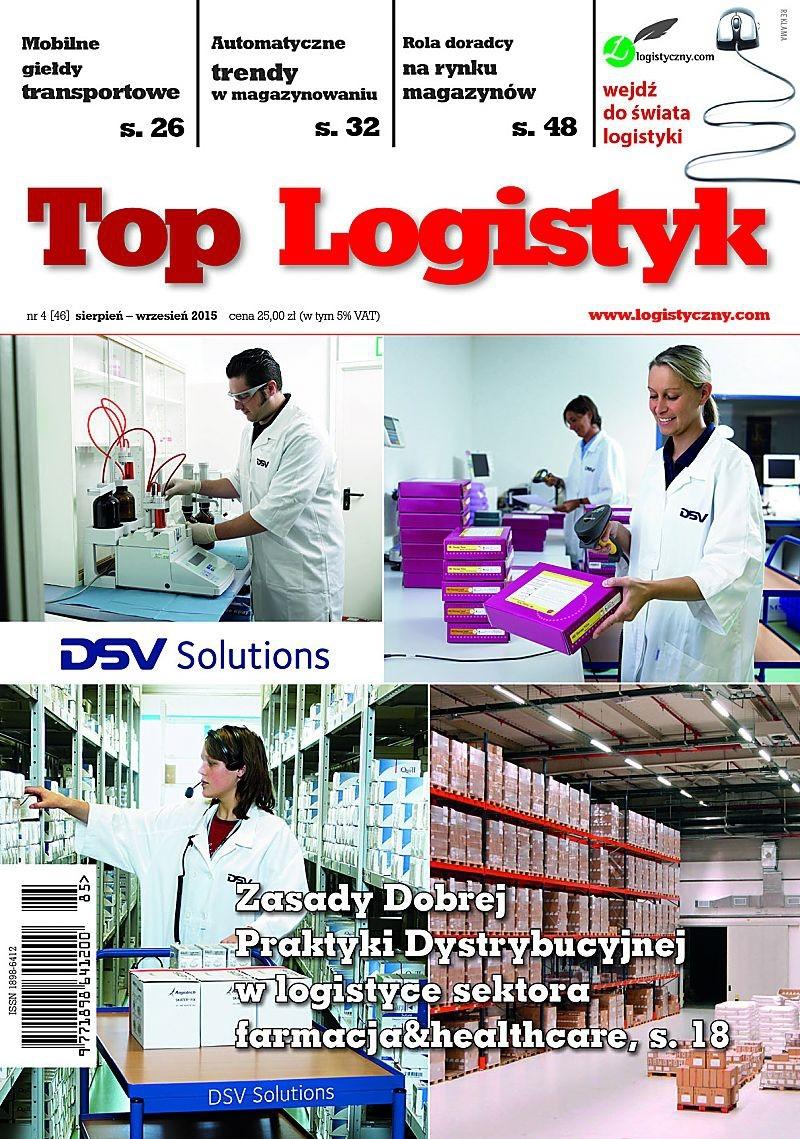 TOP LOGISTYK 4/15 E-WYDANIE (wersja elektroniczna)