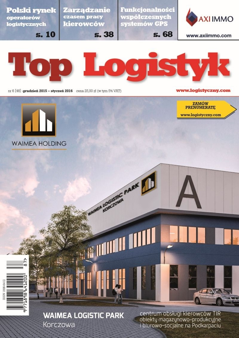 TOP LOGISTYK 6/15 E-WYDANIE (wersja elektroniczna)