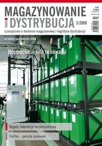 Magazynowanie i Dystrybucja 5/2008 E-WYDANIE (WERSJA ELEKTRONICZNA)