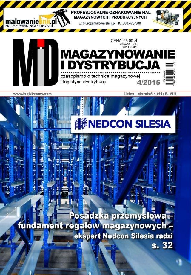 MAGAZYNOWANIE I DYSTRYBUCJA 4/15 E-WYDANIE (wersja elektroniczna)