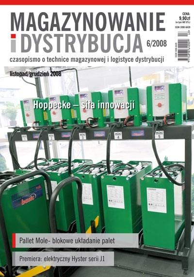 Magazynowanie i Dystrybucja 6/2008 E-WYDANIE (WERSJA ELEKTRONICZNA)