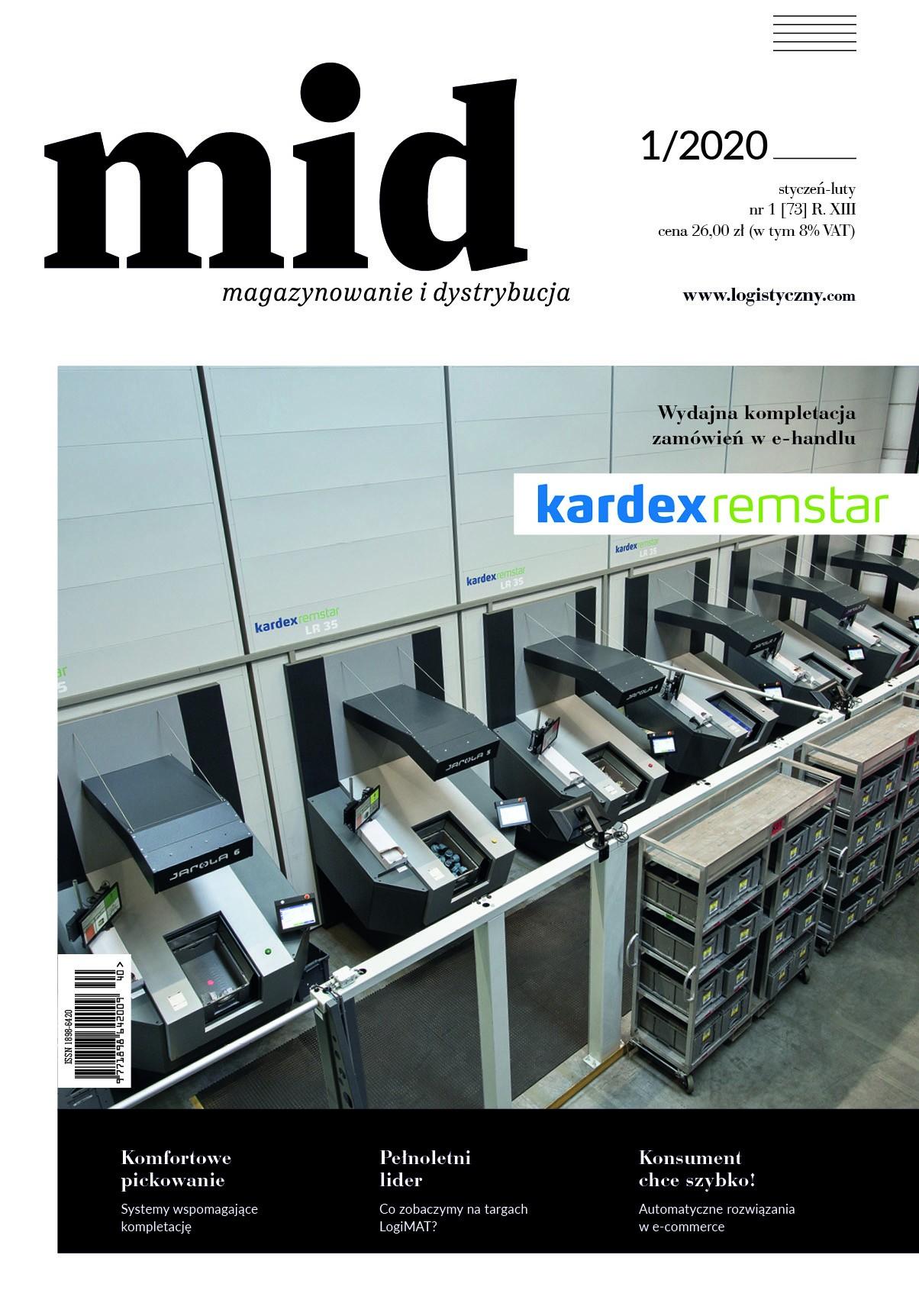 Magazynowanie i Dystrybucja 1/2020-e-wydanie