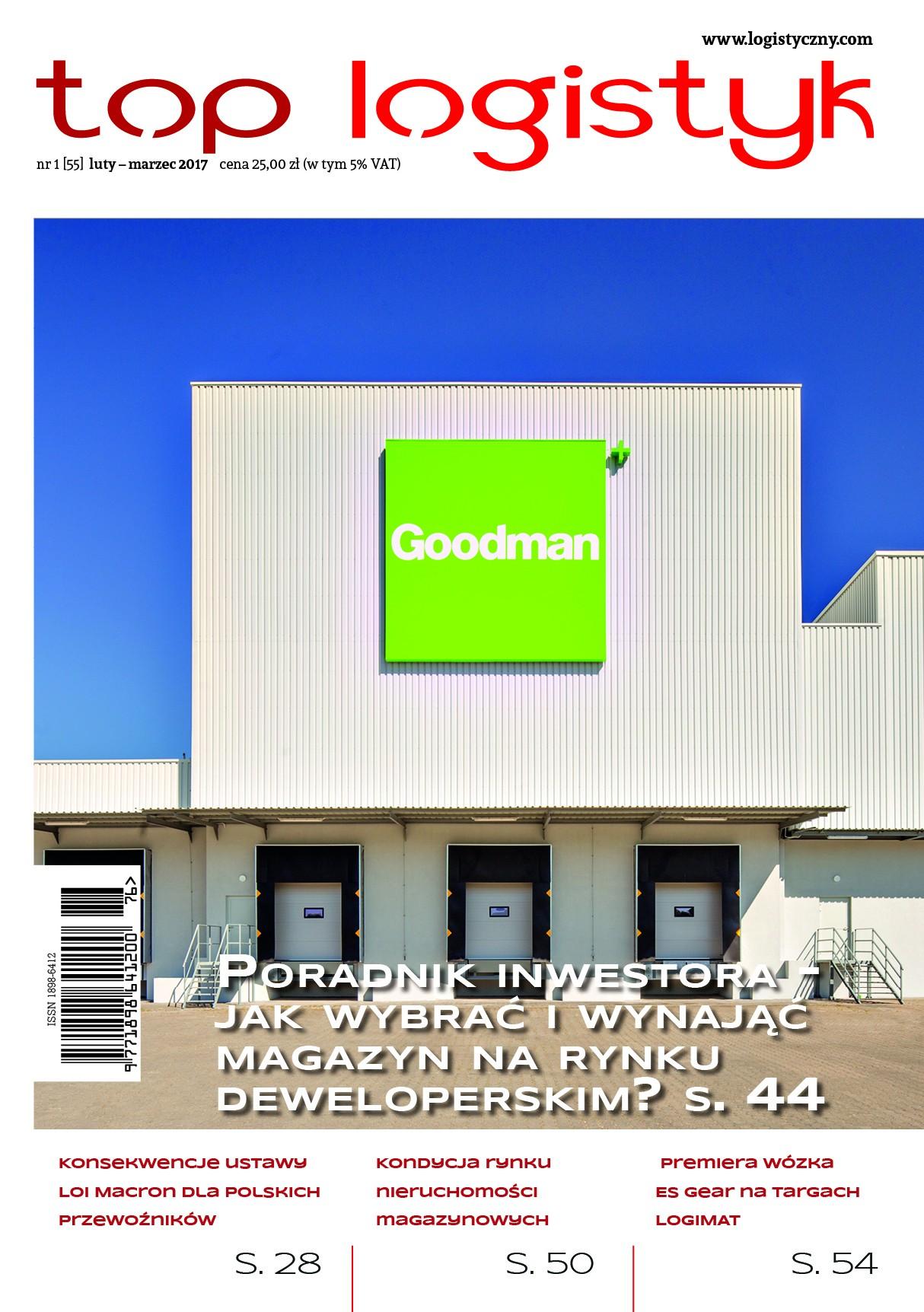 Top Logistyk 1/2017-e-wydanie